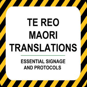Te Reo Maori Translations